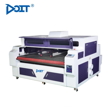 DT1610D-AF numérique double têtes machine de découpe laser mélangé composition et système de coupe mixte