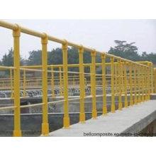 Corrimão FRP / Material de Construção / Escada de Fibra De Vidro / Cerca / Guardrail