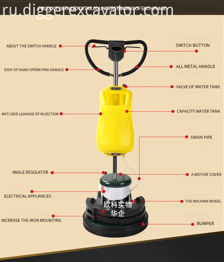 17inch Floor Cleaning And Polishing Machine