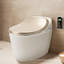 Chinese Smart Portable Automatic Cleaning Intelligent one piece Flush Toilet Without Cistern