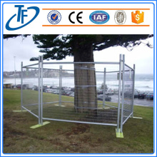 Galvanized dan Powder Coated Crowd Barrier