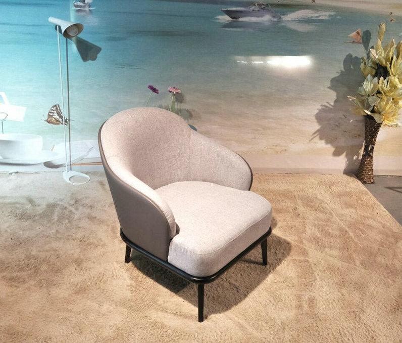 Hotel muebles marco de madera maciza minotti leslie silla