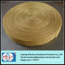high quality copper wire knitted filter wire mesh
