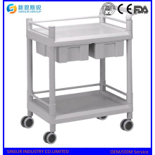 Compre el nuevo diseño Medical Use Multi-Purpose ABS Hospital Trolley