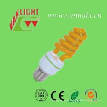 Lâmpada de cor T3 13W amarelo (VLC-CLR-XT-Série-Y) de poupança de energia