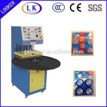 machine de scellage à chaud tournant pour blister en plastique et à clapet