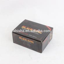 venda quente 40mm carvão de hookah shisha rei preto
