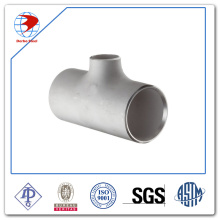 ASTM A182 soket dilas Tee Stainless Steel pipa Fitting