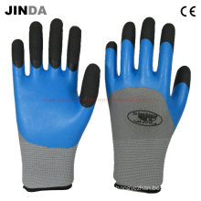Latex Foam Coated Labor Protective Gloves (LH306)