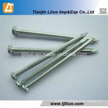 Material de construcción clavo de hormigón galvanizado eléctrico