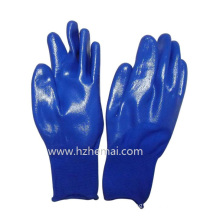 Half Coated Nitrile Gloves Children Garden Gloves Work Glove