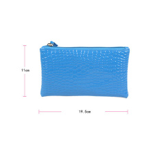 Crocodile PU Leather Lady′s Handbag (YSJK-QB003)