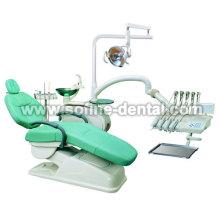 Top montado cadeira do equipo odontológico