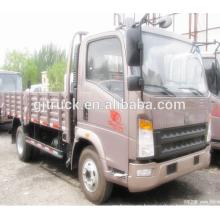 2018 4 * 2 Sinotruk Howo camión de carga / howo camión de caja de carga / HOWO camioneta / HOWO luz de carga / camioneta ligera / caja pequeña truc
