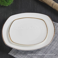GGK restaurante placa de cena de cerámica