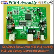 Assemblée électronique de l'Assemblée de carte PCB de trou traversant simple de trou