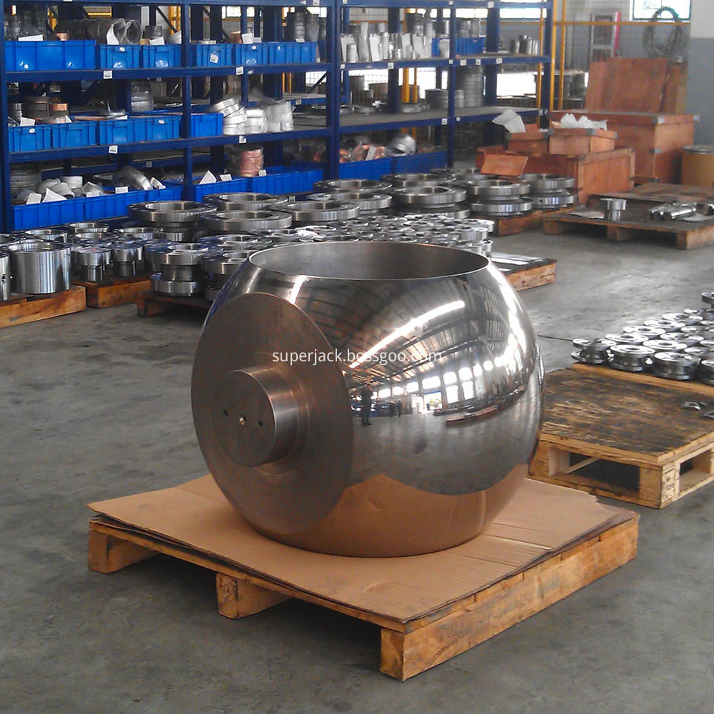 Forged Trunnion Mounted Ball Finish Lapping