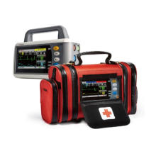 Transporte de emergencia transferencia paciente Monitor pantalla táctil mano ambulancia signos vitales Monitor Sc-C30
