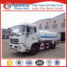 Dongfeng 12000 litros camión cisterna de agua para la venta