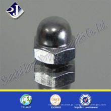 China Fornecedor de forquilha em forquilha hexagonal de aço inoxidável em aço carbono de alta resistência