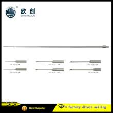Cirurgia médica reutilizável Laparoscopic 5 * 330mm Surgical Needle