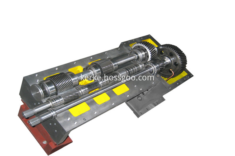 plastic machine gearbox