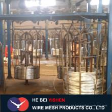 Unidad de alambre de unión galvanizado pesa el material de construcción
