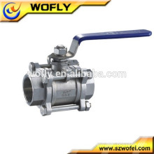 3pc ball valve cf8m 1000 wog China manufacturer