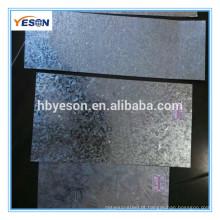 China fornecedor Z40-Z280 galvanizado aço chapa preços de metal baixo
