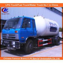 Dongfeng 4X2 15000L 15m3 LPG Tankwagen 10000L LPG Gas Füllung LKW