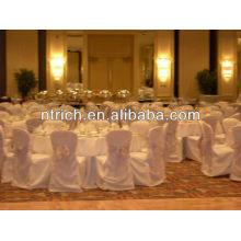 tampas da cadeira de casamentos, tampas da cadeira do poliéster para banquetes, casamento, hotel