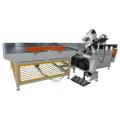 Máquina de colchones con bandas de automatización