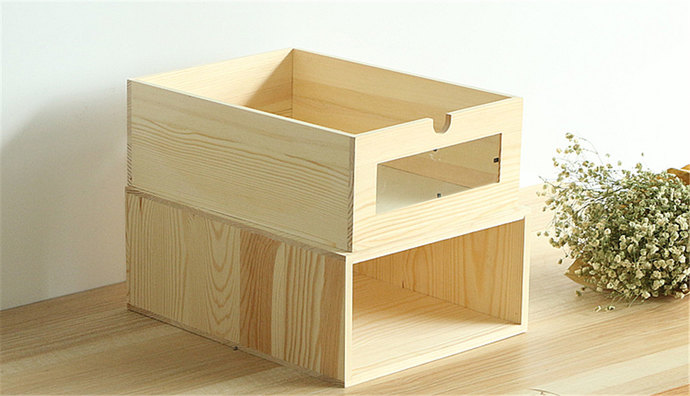 cheap wooden box