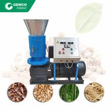 residential flat plate rice husk pellet machine