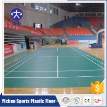 Organische und 100% reine PVC-Virgin-Rohstoffe Indoor-Kunststoff-Bodenbelag Produktion