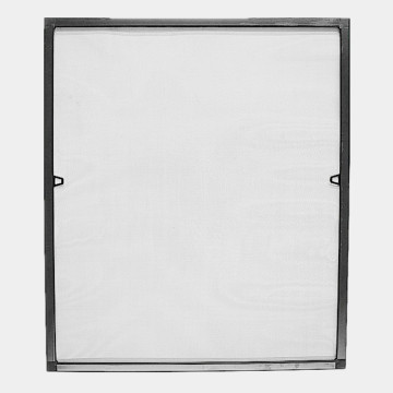 Frame mosquito net window with fiberglass mesh