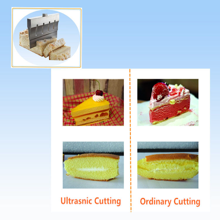 Ultrasonic Cutter for Food Industry
