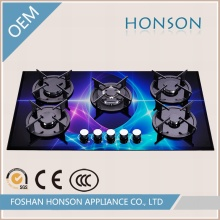 Wholesale Fashion High Quality Glass Top Built in Cooking Stove