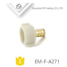 Adaptador giratório com rosca fêmea EM-F-A271 Pex com cabeça de plástico