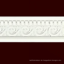 W13cm Weißes Baustoff PS Molding Cornice Home Decor