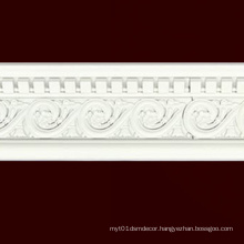 W13cm White Building Material PS Moulding Cornice Home Decor