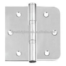 Dobradiça de porta reversível Dobradiça de porta de madeira aberta
