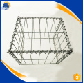 80x100mm galvanized wire mesh gabion box