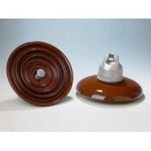 High Voltage Line Disc Type Suspension Porcelain Insulators