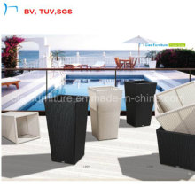 China Garden/Home Furniture Flower Rattan Flower Pot (L-004)