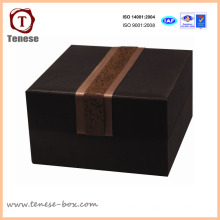 Caja de embalaje de regalo de cartón de joyería de Brown personalizado