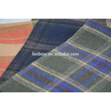 Tela escocesa de las lanas del melton de la tela escocesa en existencia del proveedor de China