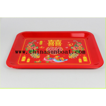 Enamel Food Tray Serving Tray