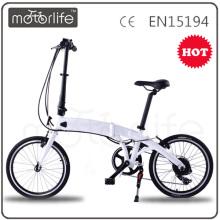 MOTORLIFE / OEM marke 36 V 250 watt 20 zoll FE4 mini faltendes elektrisches fahrrad israel elektrofahrrad