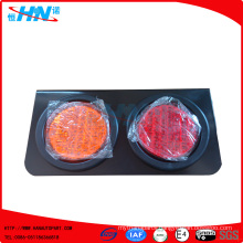 Amber-Red 24V Waterproof LED Truck Tail Lamp